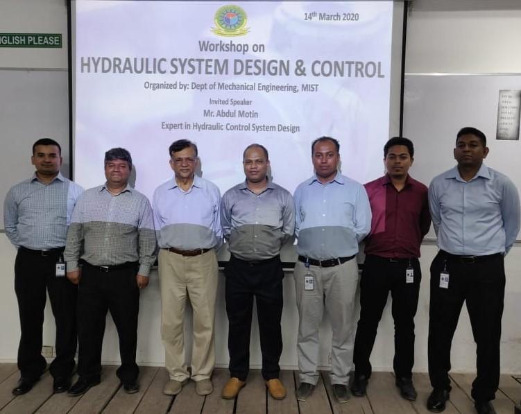 "Workshop on ""Hydraulic System Design and Control"""